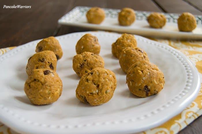 Sweet Potato Protein Bites   www.PancakeWarriors.com