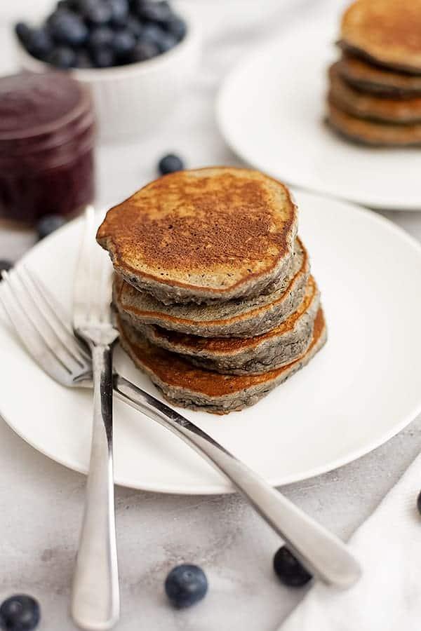 Blueberry Pancakes | www.PancakeWarriors.com